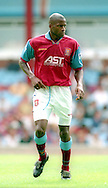 Ugo Ehiogu pf Aston Villa - Pre Season Friendly - Aston Villa v Partizan Belgrade - Villa Park Stadium - Birmingham - England - 12th August 1995 - Picture Simon Bellis/Sportimage