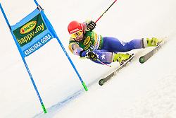 March 9, 2019 - Kranjska Gora, Kranjska Gora, Slovenia - Albin Tahiri of Kosovo in action during Audi FIS Ski World Cup Vitranc on March 8, 2019 in Kranjska Gora, Slovenia. (Credit Image: © Rok Rakun/Pacific Press via ZUMA Wire)