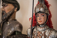 """The """"Pupi"""" are part of the city's history, despite being over-represented by the few performances that are taking place, several important city museums, such as Branciforte Palace, house historical collections of these puppets"""