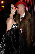 Dita von Teese. 25th anniversary party and fashion show by Agent Provocateur at the Cafe de Paris, Coventry Street, London W1 on 14th February 2005.ONE TIME USE ONLY - DO NOT ARCHIVE  © Copyright Photograph by Dafydd Jones 66 Stockwell Park Rd. London SW9 0DA Tel 020 7733 0108 www.dafjones.com