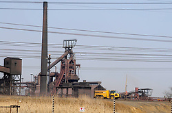 415<br /> Arcelor Mittal is the world's leading integrated steel and mining company operating in more than 60 countries and employs about 245,000 people worldwide.<br /> Picture: Tiro Ramatlhatse