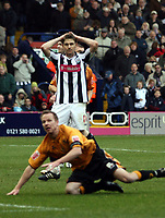 Photo: Mark Stephenson/Sportsbeat Images.<br /> West Bromwich Albion v Wolverhampton Wanderers. Coca Cola Championship. 25/11/2007 A dejected Zoltan Gera after he misses the penalty