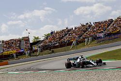 May 11, 2019 - Barcelona, Spain - Motorsports: FIA Formula One World Championship 2019, Grand Prix of Spain, ..#44 Lewis Hamilton (GBR, Mercedes AMG Petronas Motorsport) (Credit Image: © Hoch Zwei via ZUMA Wire)