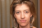 Claudine Bizeul, wife of Hervé Bizeul Domaine Le Clos des Fees. Roussillon. Owner winemaker. France. Europe.