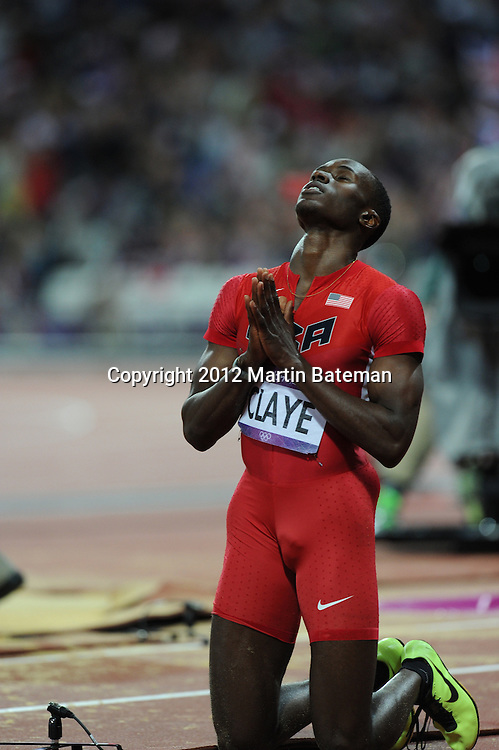 August 4th 2012. Olympic Athletics action