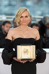 Diane Kruger, who won the award for best actress for her part in the movie 'In The Fade' (Aus Dem Nichts) attend the Palme D'Or winner photocall during the 70th annual Cannes Film Festival held at the Palais Des Festivals in Cannes, France on May 28, 2017 as part of the 70th Cannes Film Festival. Photo by Nicolas Genin/ABACAPRESS.COM
