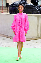 Gugu Mbatha-Raw arriving for Royal Academy of Arts Summer Exhibition Preview Party 2019 held at Burlington House, London. Picture date: Tuesday June 4, 2019. Photo credit should read: Matt Crossick/Empics