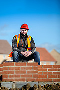 Ryan Hughes photographed in Rothley, Leicestershire, England.