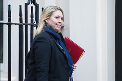 Downing Street, London, November 29th 2016. Secretary of State for Culture, Media and Sport Karen Bradley arrives at 10 Downing Street for the weekly meeting of the UK cabinet.