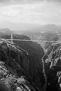 Royal Gorge Bridge spanning the Arkansas River, Cañon City, Colorado.