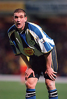 Andy Booth (Sheffield Wednesday) Watford v Sheffield Wednesday, 7/11/2000. Credit: Colorsport / Matthew Impey