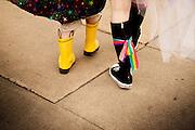 Walking the Seattle Pride Parade