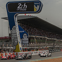 Race Start at Le Mans 24H 2015