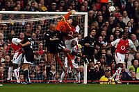 Fotball<br /> Arsenal v Manchester United<br /> 28. mars 2004<br /> Foto: Digitalsport<br /> Norway Only<br /> <br /> JENS LEHMANN ARSENAL/WES BROWN MAN UNITED