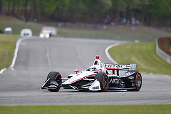 April 23, 2018 - Birmingham, Alabama, United States of America - JOSEF NEWGARDEN (1) of the United States battles for position through the turns during the Honda Grand Prix of Alabama at Barber Motorsports Park in Birmingham, Alabama. (Credit Image: © Justin R. Noe Asp Inc/ASP via ZUMA Wire)