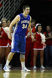 13 January 2012:  Ethan Wragge during an NCAA Missouri Valley Conference mens basketball game where the Creighton Bluejays topped the Illinois State Redbirds 87-78 in Redbird Arena, Normal IL