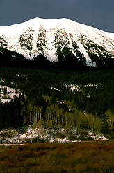 Montana: Scenic with mountain,  Photo: mtbose105.Photo copyright Lee Foster, www.fostertravel.com, 510/549-2202, lee@fostertravel.com