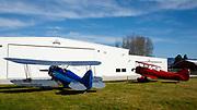 1931 Waco UBF-2 and 1941 Waco UPF-7 at WAAAM.