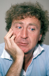 GENE WILDER, (born Jerome Silberman, June 11, 1933 - August 28, 2016) was an American stage and screen comic actor, screenwriter, film director, and author. He was known best for the lead role in the 1971 film 'Willy Wonka in Willy Wonka & the Chocolate Factory,' and the Mel Brooks comedies 'Blazing Saddles', and 'Young Frankenstein', which Wilder co-wrote, garnering the pair an Academy Award nomination for Best Adapted Screenplay. Wilder died at age 83 from complications from Alzheimer's disease. PICTURED: Sept. 5, 1982 - New York, New York, U.S. - GENE WILDER during a press interview. (Credit Image: Mario E. Ruiz/ZUMAPRESS.com)