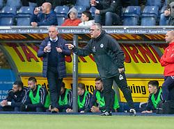 Ayr United's manager Ian McCall. Falkirk 0 v 1 Ayr United, Scottish Championship game played 3/11/2018 at The Falkirk Stadium.