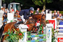 Agterhuis Edwin (NED) - Angelotti<br /> KWPN Paardendagen Ermelo 2010<br /> © Dirk Caremans