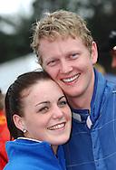Glen Raymond and girlfriend Brooke.Motorsport-Rally/2008 Coffs Coast Rally.Heat 2.Coffs Harbour, NSW.16th of November 2008.(C) Joel Strickland Photographics