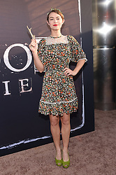 May 14, 2019 - Hollywood, California, U.S. - Elvy Yost arrives for the premiere of HBO's 'Deadwood' Movie at the Cinerama Dome theater. (Credit Image: © Lisa O'Connor/ZUMA Wire)