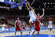 DESCRIZIONE : Katowice Poland Polonia Eurobasket Men 2009 Semifinal 5-8 place Francia France Turchia Turkey <br /> GIOCATORE : Nicolas Batum<br /> SQUADRA : Francia France<br /> EVENTO : Eurobasket Men 2009<br /> GARA : Francia France Turchia Turkey <br /> DATA : 19/09/2009 <br /> CATEGORIA :<br /> SPORT : Pallacanestro <br /> AUTORE : Agenzia Ciamillo-Castoria/H.Bellenger<br /> Galleria : Eurobasket Men 2009 <br /> Fotonotizia : Katowice  Poland Polonia Eurobasket Men 2009 Semifinal 5-8 place Francia France Turchia Turkey <br /> Predefinita :