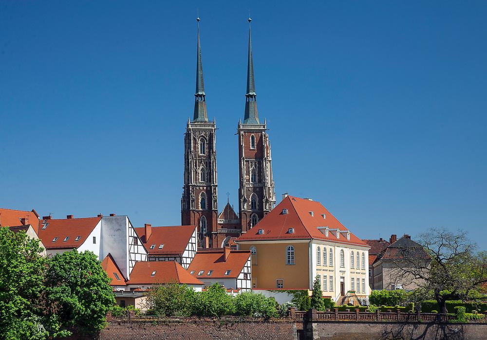 Archikatedra św. Jana Chrzciciela, Ostrów Tumski, Wrocław, Polska<br /> Cathedral of St. John the Baptist in Ostrów Tumski, Wrocław, Poland