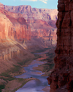 Downstream view from Nankoweap, Colorado River mile 53, Grand Canyon National Park, Arizona, USA; 4 May 2008; Pentax 67II, 200mm lens, Velvia 100