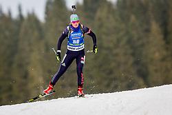 Yelizaveta Belchenko (KAZ) during Women 15km Individual at day 5 of IBU Biathlon World Cup 2018/19 Pokljuka, on December 6, 2018 in Rudno polje, Pokljuka, Pokljuka, Slovenia. Photo by Ziga Zupan / Sportida