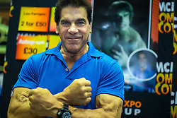 © Licensed to London News Pictures . 30/07/2017 . Manchester , UK . Incredible Hulk actor Lou Ferrigno poses . Cosplayers, families and guests at Comic Con at the Manchester Central Convention Centre . Photo credit : Joel Goodman/LNP