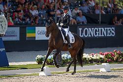Möller Eva, GER, Candy Old<br /> World ChampionshipsYoung Dressage Horses<br /> Ermelo 2018<br /> © Hippo Foto - Dirk Caremans<br /> 02/08/2018
