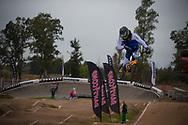 #117 (FANTONI Giacomo) ITA at the 2014 UCI BMX Supercross World Cup in Santiago Del Estero, Argentina.