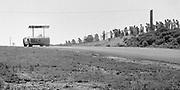 Chaparral 2E on its debut in the 1966 Bridgehampton Can-Am; Photo by Pete Lyons 1966/© 2015 Pete Lyons/petelyons.com