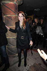 PRINCESS BEATRICE OF YORK at the launch party for the new nightclub Public at 533 Kings Road, London on 2nd December 2010.