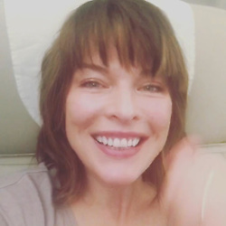 """Milla Jovovich releases a photo on Instagram with the following caption: """"Hey everyone! So I'm finally on #weibo!! Follow me on @millajovovich1217 to watch all my adventures in China for the #shanghaifilmfestival 2017 and I hope to meet some of my fans while I'm there!! Here's a still from my first weibo video on the plane to Shanghai!! #ladiary\u2764\ufe0f\u2764\ufe0f\u2764\ufe0f"""". Photo Credit: Instagram *** No USA Distribution *** For Editorial Use Only *** Not to be Published in Books or Photo Books ***  Please note: Fees charged by the agency are for the agency's services only, and do not, nor are they intended to, convey to the user any ownership of Copyright or License in the material. The agency does not claim any ownership including but not limited to Copyright or License in the attached material. By publishing this material you expressly agree to indemnify and to hold the agency and its directors, shareholders and employees harmless from any loss, claims, damages, demands, expenses (including legal fees), or any causes of action or allegation against the agency arising out of or connected in any way with publication of the material."""