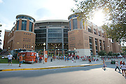 AUSTIN, TX - SEPTEMBER 14: A general view of Darrell K Royal - Texas Memorial Stadium before kickoff between the Texas Longhorns and the Mississippi Rebels on September 14, 2013 at Darrell K Royal-Texas Memorial Stadium in Austin, Texas.  (Photo by Cooper Neill/Getty Images) *** Local Caption ***