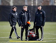 Coaches Matt Prestridge and Rob Raynor  during a training session at the Steelphalt Academy, Sheffield. Picture date: 5th March 2020. Picture credit should read: Simon Bellis/Sportimage