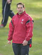 © Peter Spurrier/ Intersport, Images  020 8 876 8611<br /> email images@Intersport,.co.uk<br /> Photo Peter Spurrier<br /> 19/03/2003<br /> Sport - Rugby - Six Nations Championships:<br /> England Squard Training at Pennyhill Park<br /> Mike Worsley