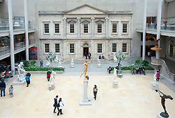 The Charles Engelhard Court  at Metropolitan Museum of Art in Manhattan , New York City, USA
