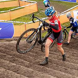 11-01-2020: Wielrennen: NK Veldrijden: Rucphen<br />Lotte Sonnemans