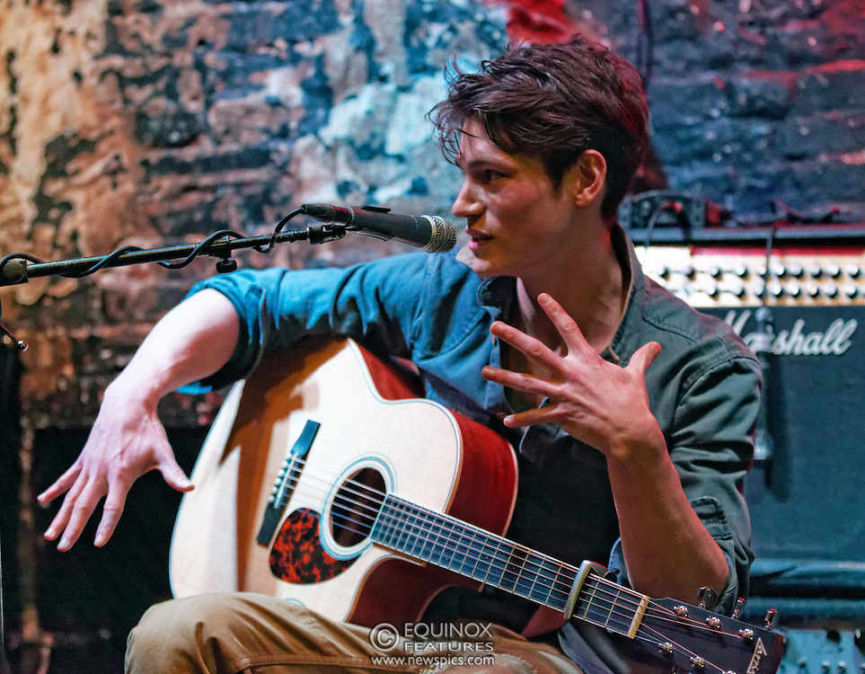 London, United Kingdom - 11 April 2013.Musician and model Sam Way performing at 12 Bar Club, Soho, London, England, UK..Contact: Equinox News Pictures Ltd. +448700780000 - Copyright: ©2013 Equinox Licensing Ltd. - www.newspics.com.Date Taken: 20130411 - Time Taken: 203211