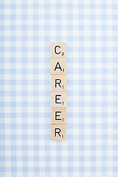 Dec. 04, 2012 - Game tile letters spelling career (Credit Image: © Image Source/ZUMAPRESS.com)