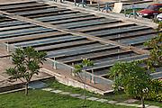 Cuiaba_MT, Brasil...Estacao de Tratamento de Esgoto em Cuiaba, Mato Grosso...Sewage treatment plant in Cuiaba, Mato Grosso...Foto: LEO DRUMMOND / NITRO