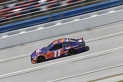 April 27, 2018 - Talladega, Alabama, United States of America - Denny Hamlin (11) takes to the track to practice for the GEICO 500 at Talladega Superspeedway in Talladega, Alabama. (Credit Image: © Justin R. Noe Asp Inc/ASP via ZUMA Wire)
