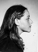 Primer fotografía de mamá después de la clandestinidad. Brasil, 1977. *Fotografía escaneada.