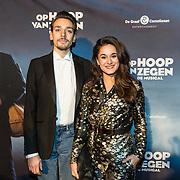 NLD/Zaandam/20190128- première musical Op Hoop van Zegen, Esmée Dekker en partner