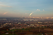 Nederland, Gelderland, Land van Maas en Waal, 15-11-2010; Gezicht  op omgeving WIjchen, richting Nijmegen.View on Wijchen, direction Nijmegen..luchtfoto (toeslag), aerial photo (additional fee required).foto/photo Siebe Swart