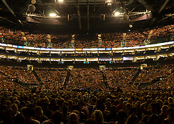 © Licensed to London News Pictures. 23/05/2012. London, UK. Westlife perform live at a busy O2 Arena, London, as part of their final ever farewell tour.   Westlife are an Irish boy band formed in 1998. They are to disband in 2012 after their farewell tour. The group's line-up was Shane Filan, Mark Feehily, Nicky Byrne, and Kian Egan.  In this picture - Nicky Byrne.  Westlife have sold over 45 million records worldwide which includes studio albums, singles, video release, and compilation albums.  Photo credit : Richard Isaac/LNP